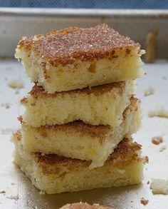 Cinnamon Sugar Cookie Squares | Bake or Break