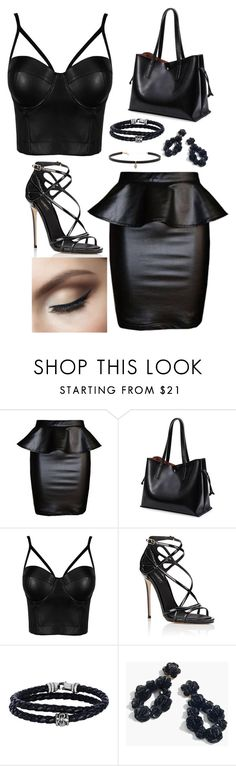 """""""leather not pleather"""" by rnieass on Polyvore featuring Dolce&Gabbana, Phillip Gavriel, J.Crew and Carbon & Hyde"""