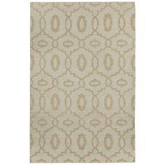 Capel Rugs Moor Bisque Woven Wool Rug