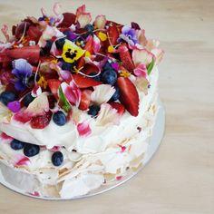 unbirthdaybakery - Crispy layers of French meringue with soft billowy centre…
