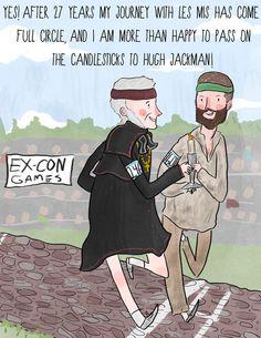 http://25.media.tumblr.com/tumblr_m8j02uDDsm1r9q9mqo2_500.jpg     Colm Wilkinson passing the candlestick to Hugh Jackman