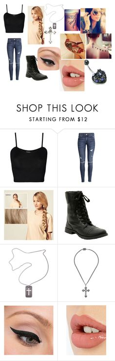 """""""Untitled #760"""" by samantha-myers-2 ❤ liked on Polyvore featuring WearAll, H&M, Hershesons, Christian Dior, King Baby Studio, LORAC and Charlotte Tilbury"""