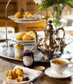 We have the same menu for our afternoon high tea..........Maybe tomorrow I'll try a new recipe.