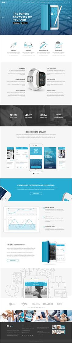 Blu is beautifully design responsive #WordPress theme for #startups #app #landingpage website with 18+ stunning homepage layouts download now➩ https://themeforest.net/item/blu-a-beautiful-theme-for-businesses-and-individuals/18217358?ref=Datasata