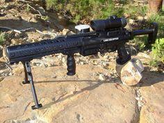 Tippmann A5 (custom) Nerf Mod, Paintball Gear, Air Rifle, Airsoft Guns, Extreme Sports, Firearms, Main Character, Rifles, Mtg