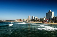 Durban Beachfront South Africa, New York Skyline, Country, Travel, Beautiful, Viajes, Rural Area, Destinations, Traveling