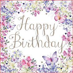 Happy Birthday Wishes Cards, Happy Birthday Flower, Happy Birthday Pictures, Birthday Blessings, Happy Birthday Quotes, Birthday Fun, Birthday Cards, Happy Birthday Niece, Birthday Angel