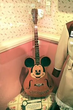 """The original 4-string tenor """"MouseGetar"""" played by Jimmie Dodd on the 50's Mickey Mouse Club"""
