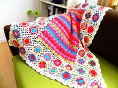 Ziggy Blanky: free #crochet #blanket #pattern