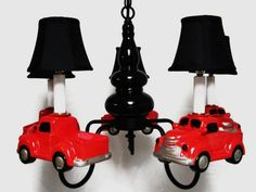 Boy's Room Chandelier Lighting Vintage by whimsicalcollections, $300.00