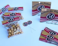 Kit Boteco - Cachaça 51 Samba, Diy, Wedding, Collections, Beautiful, Parties Decorations, Cousin Birthday, Stationery Set, Card Ideas Birthday