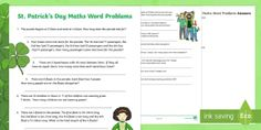 Search for Primary Resources, teaching resources, activities Primary Resources, Teaching Resources, Math Words, Paddys Day, 19th Century, Activities, Search, Research, Searching