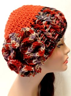 Women's Crochet Derby Hat. Autumn and Spring ♥ by Africancrab