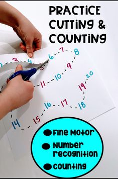 Number Line Cutting Practice