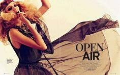 Open Air | Yasmina Muratovich | Alexey Kolpakov #photography | Marie Claire Russia July 2012
