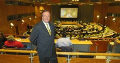 """Gerard Mc Keon, Publisher Black Tie International Magazine http://blacktiemagazine.com/society_april_2017/ECOSOC.htm  2017 ECOSOC Partnership Forum """"Partnerships for promoting opportunities, increased prosperity and sustainable development for all"""""""