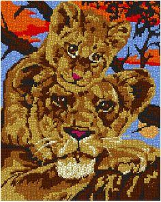 0050-dc-thatslove-4x3 Beaded Animals, Canvas Patterns, Perler Beads, Cross Stitch, Teddy Bear, Cross Stitch Embroidery, Diy Dog, Punto De Cruz, Dots