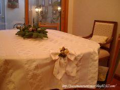 2003年クリスマスフェア    「Chez Mimosa」      http://passamaneriavermeer.blog80.fc2.com/  ~Tassel&Fringe&Soft furnishingのある暮らし~   フランスやイタリアのタッセル・フリンジ・ファブリック・小家具などのソフトファニッシングで、暮らしを彩りましょう