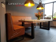 eettafel hoekbank Dining Bench, Kitchen Design, New Homes, Indoor, House, Furniture, Home Decor, Kitchens, Lifestyle