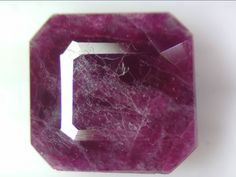 5.47 CT NATURAL RUBY SQUARE EMERALD CUT LOOSE GEMSTONES 9.4 X 9.7 MM FACETED RED Cut Loose, Natural Ruby, Emerald Cut, Loose Gemstones, Nature, Red, Naturaleza, Nature Illustration, Off Grid