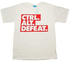 Urban Industry Special Works CTRL-ALT-DEFEAT T-Shirt