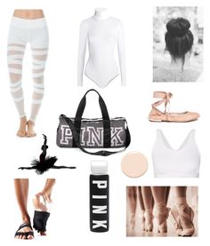 """""""Let's Dance 💃🏼"""" by robbieandhunter on Polyvore featuring Electric Yoga, Wolford, Sam Edelman, ToeSox, Victoria's Secret, Christian Dior and adidas"""