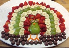 Fruit Turkey Platter