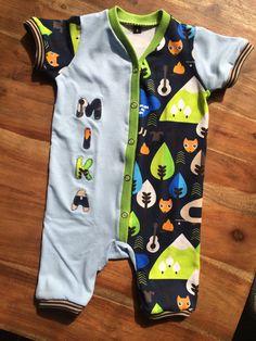 ♡ Schnittmuster von Kid5: Baby-Jumpsuit