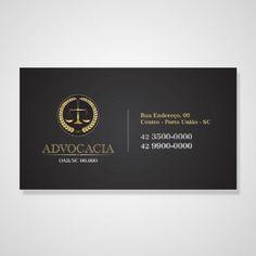 Cartão Advocacia - 1000unid - Couchê 300g - 4x0 Cores | Cartão Pronto                                                                                                                                                                                 Mais