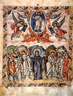 Scripture Speaks: The Ascension of Our Lord Art Blog, Cherub, Byzantine Art, Art For Art Sake, Painting, Ascension, Art, My Arts, Byzantine