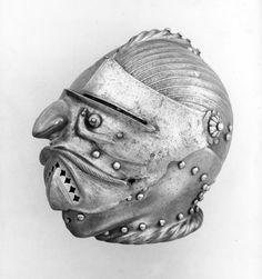 Armeria Reale, Torino E 11 Celata da incastro grottesca, Germania  (Norimberga?), 1520-1530 circa