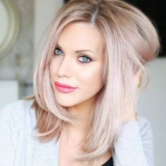 Hair Color Ideas Dirty Blonde rather Hair Color Shades Of Blonde, Hair Color Ideas For Pale Skin Blue Eyes - Hairstyles For All Blond Rose, Pink Blonde Hair, Medium Blonde Hair, Blonde Hair Shades, Blonde With Pink, Hair Color Shades, Strawberry Blonde Hair, Blonde Hair With Highlights, Hair Color Pink