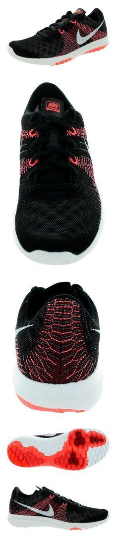 $90 - Nike Women's Flex Fury Black/White/Ht Lv/Brght Crmsn Running Shoe 8.5 Women US #shoes #nike #2015