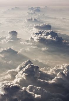 My thoughts: Cloud Mountains... very inspiring. Photographer unknown