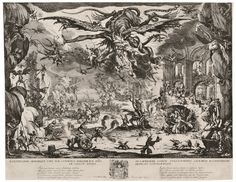 Jacques Callot, 'The Temptation of Saint Anthony,' 1635, David Tunick, Inc.