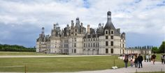 Chateau de Chambord is strongly influenced by Italian architecture as it was built in 1510 by Francois I after his return from Milan.
