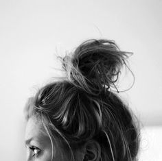 Messy buns, oh how I wish I could perfect you