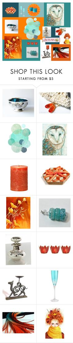 """""""Autumn"""" by anna-ragland ❤ liked on Polyvore featuring Pier 1 Imports, C & F and vintage"""