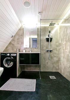 Betonia kylpyhuoneeseen