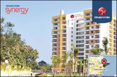 Mantri Synergy has 2 bhk and 3 bhk flat units and the other Synergy II which has only 2 bhk flat units.