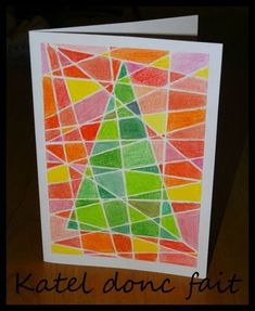 Christmas card (fast and efficient) for cycles 3 Christmas card . - Christmas card (fast and efficient) for cycles 3 Christmas card (fast and effici - Clay Christmas Decorations, Christmas Art Projects, Christmas Card Crafts, Christmas Templates, Noel Christmas, Paper Cards, Diy Cards, Diy Weihnachten, Art Lessons