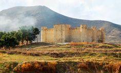 Tigranakert's castle in Artsakh Armenia.