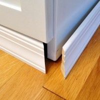 Adding Molding To Cabinets To Make Them Look Built In