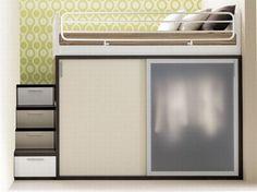 Literas de diseño para espacios reducidos literas minimalistas2