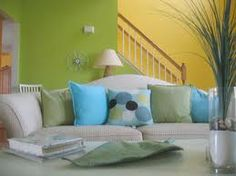 complementing wall colors...