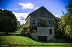 Historic Molson's Mill on the banks for the Ganaraska River in Port Hope, Ontario | by Jay Callaghan, via 500px