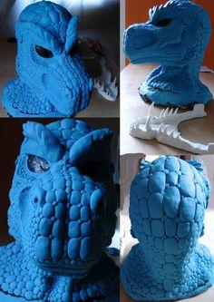 Latex Larp Arok Mask by Arooki on DeviantArt Larp, Deviantart, Artist, Fictional Characters, Ideas, Fantasy Characters, Artists, Thoughts