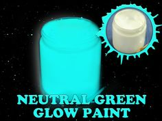 outdoor aqua glow this acrylic glow in the dark paint is suitable for. Black Bedroom Furniture Sets. Home Design Ideas
