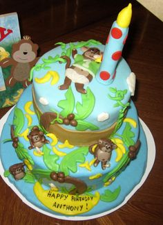 Curious George Cakes For Sale