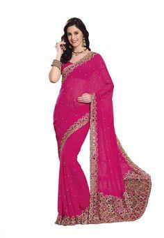 Georgette Designer Saree 6400/-